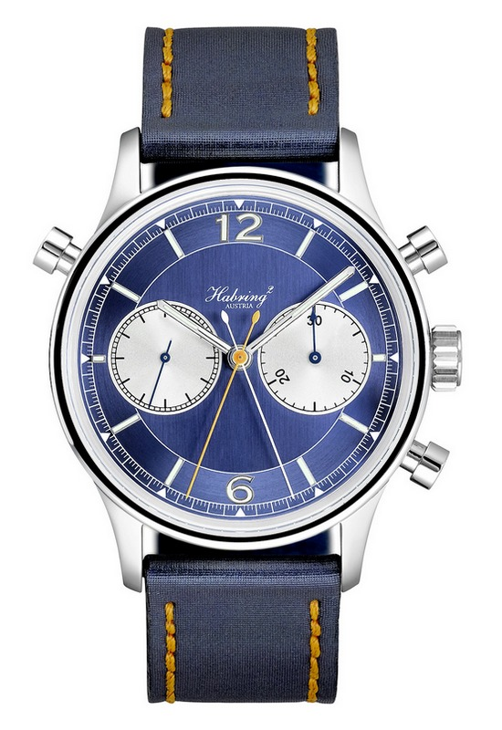 Habring2 Doppel 2.0 Watch Blue