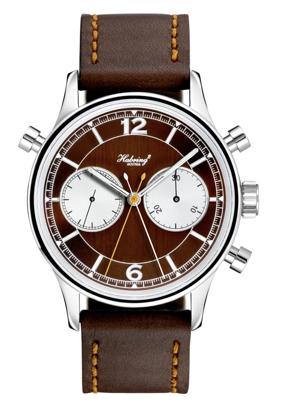 Habring2 Doppel 2.0 Watch Brown