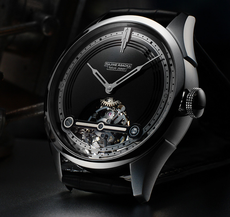 Hajime Asaoka Project T Tourbillon Watch Front