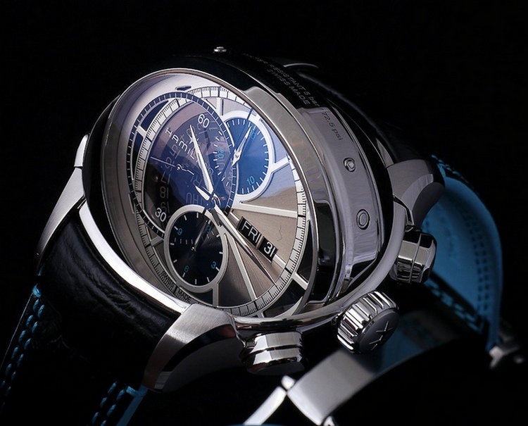 Hamilton Jazzmaster Face 2 Face II Watch Rotating