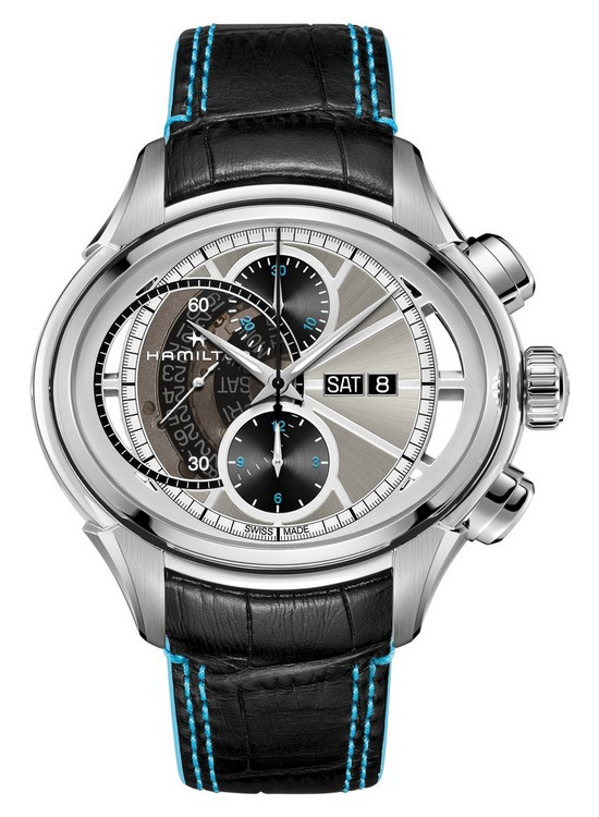 Hamilton Jazzmaster Face 2 Face II Watch Front