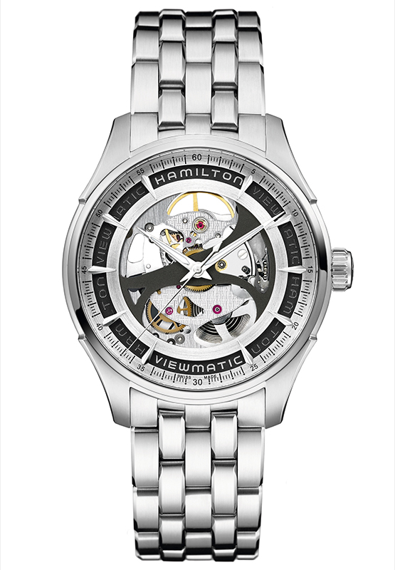 Hamilton Jazzmaster Viewmatic Skeleton Gents Watch