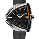 Hamilton Ventura Elvis80 Watch - Black Rubber Straap