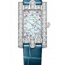 Harry Winston Avenue Classic Cherry Blossom Watch Front