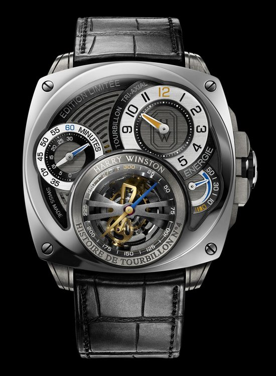 Harry Winston Histoire de Tourbillon 4 Watch Front
