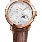 Harry Winston Midnight Date Moonphase Automatic 42mm Rose Gold Watch