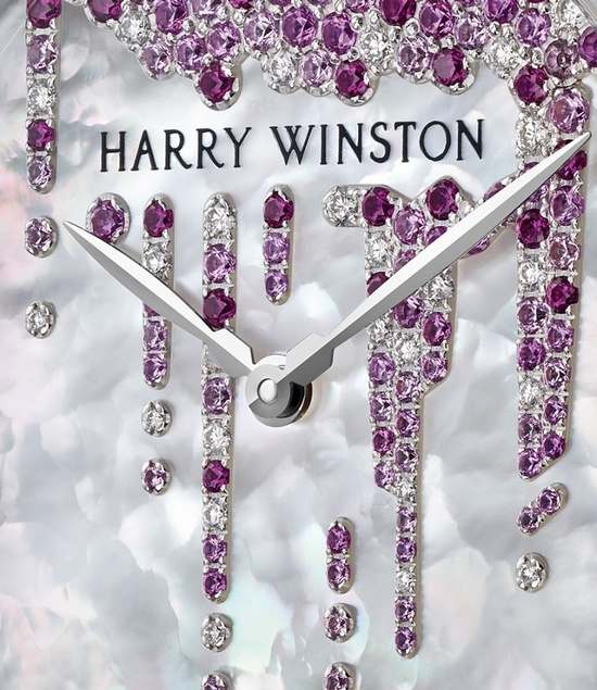 Harry Winston Midnight Stalactites Valentines Day 2016 Watch Detail