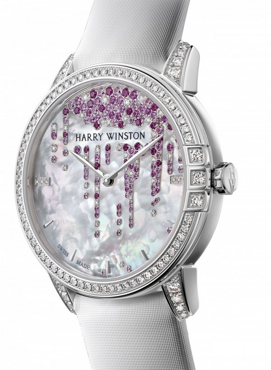 Harry Winston Midnight Stalactites Valentines Day 2016 Watch
