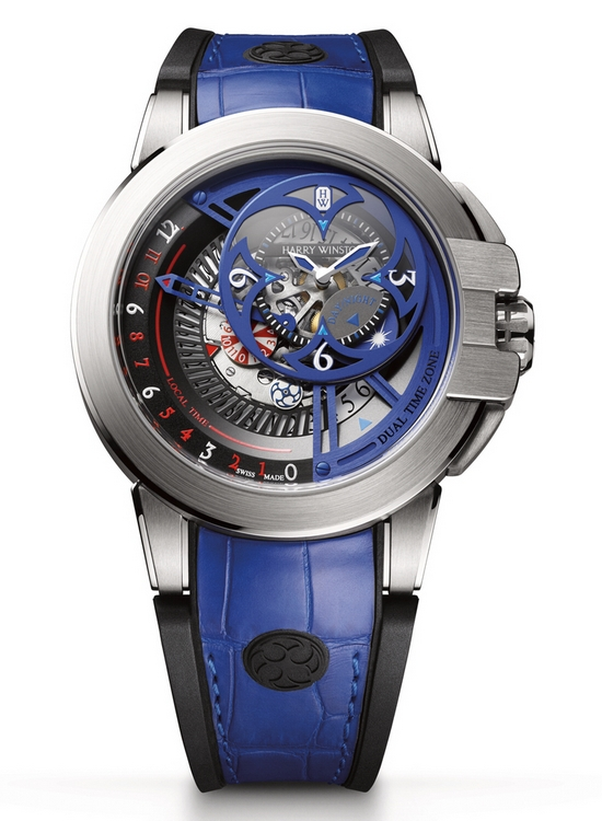 Harry Winston Ocean Dual Time Retrograde 2015 Only Watch Front