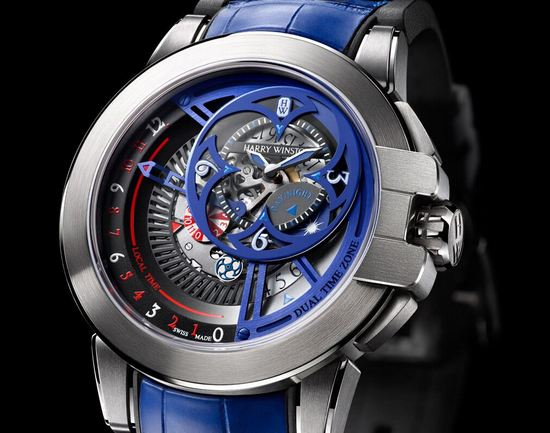 Harry Winston Ocean Dual Time Retrograde 2015 Only Watch