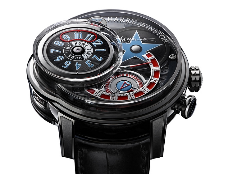 Harry Winston Opus 14 Watch - Dial