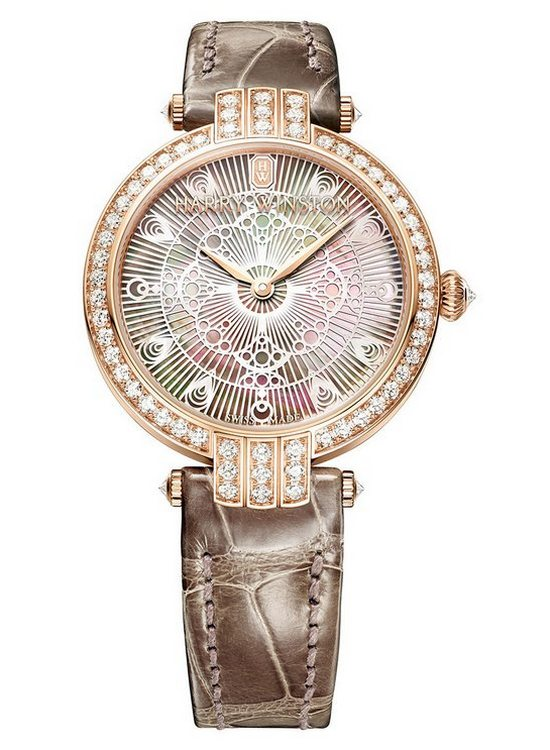 Harry Winston Premier Lace 31mm Rose Gold Watch