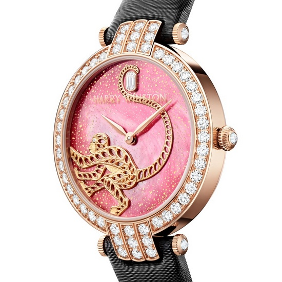 Harry Winston Premier Monkey Automatic Watch Dial