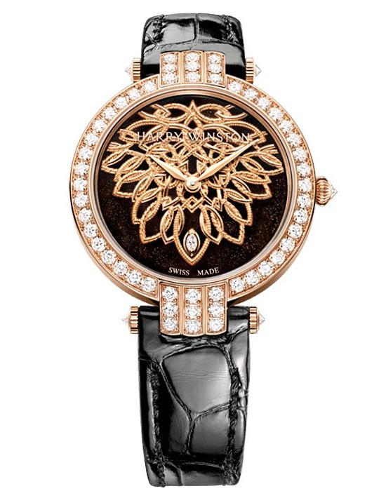 Harry Winston Premier Shinde Automatic 36mm Watch_1