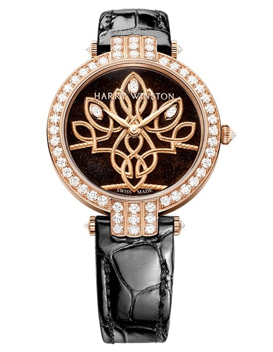 Harry Winston Premier Shinde Automatic 36mm Watch_3