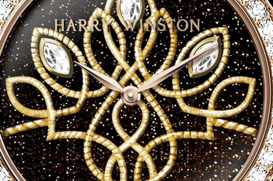 Harry Winston Premier Shinde Automatic 36mm Watch Dial