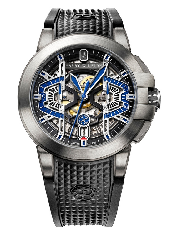 Harry Winston Project Z9 Watch Front