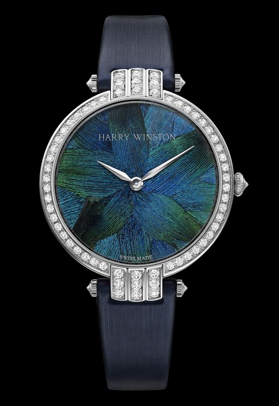Harry Winston Premier Feathers Peacock Watch