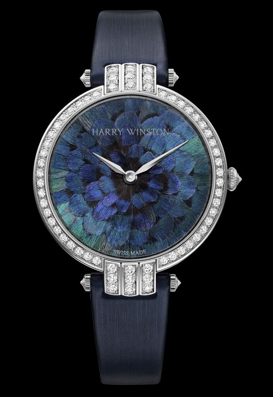 Harry Winston Premier Feathers Ring Necked Pheasant Watch