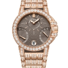 Harry Winston Ocean Biretrograde Watch Rose Gold and Diamods