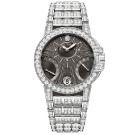 Harry Winston Ocean Biretrograde Watch White Gold and Diamonds