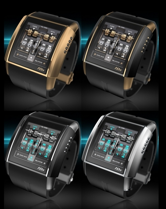 HD3 Slyde Watches