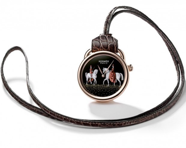 Hermès Arceau Amazones Pocket Watch
