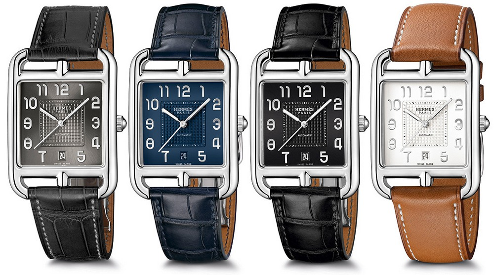 Hermès Cape Cod TGM Manufacture Watches