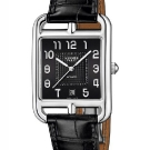 Hermès Cape Cod TGM Manufacture Watch Black