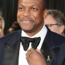 Chris Tucker wearing Piaget