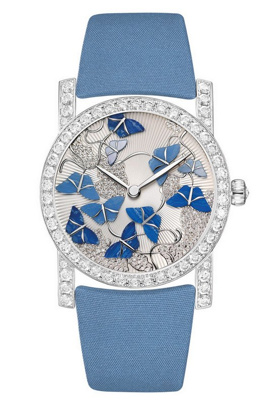 Chaumet Attrape-Moi Butterfly Blue Watch
