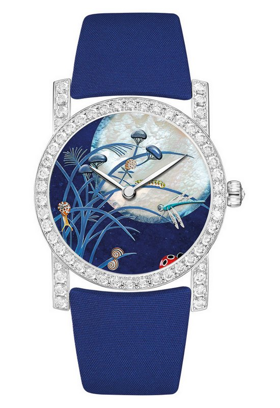 Chaumet Attrape-Moi Dragonfly Snail Catepillar Watch