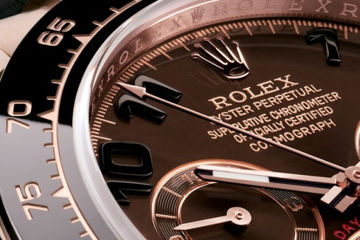 Rolex Oyster Perpetual Cosmograph Daytona Watch Dial Detail