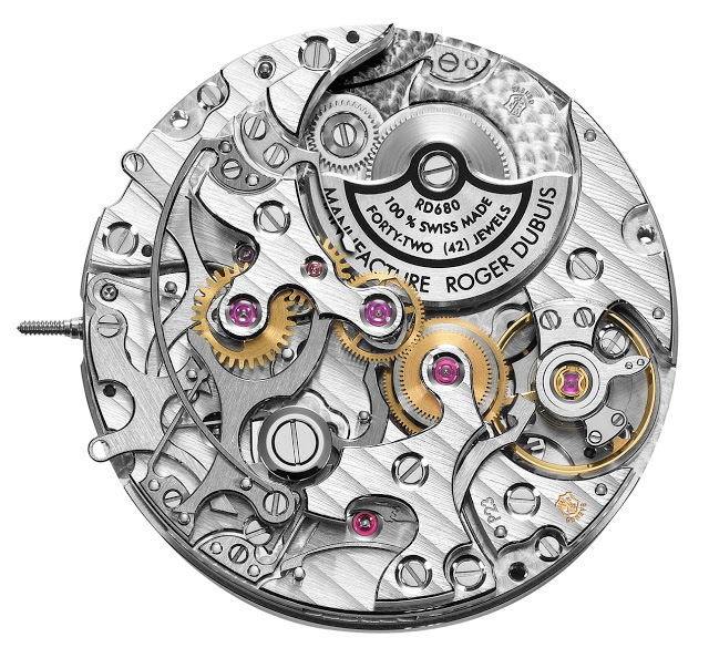 Roger Dubuis RD680 Movement