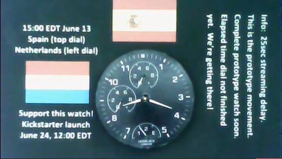 Hotblack London Smartwatch Dial Display Example 1