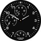 Hotblack London Smartwatch Dial
