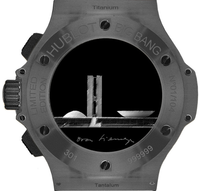 Hublot Big Bang Aero Bang Niemeyer Watch Caseback