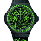 Hublot Big Bang Broderie Sugar Skull Fluo Malachite Green