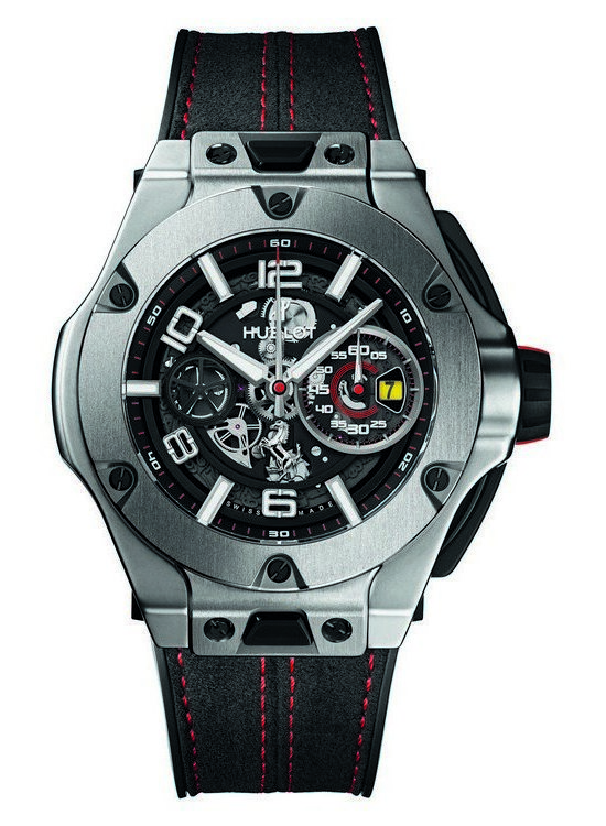 Hublot Big Bang Ferrari Titanium Watch Front