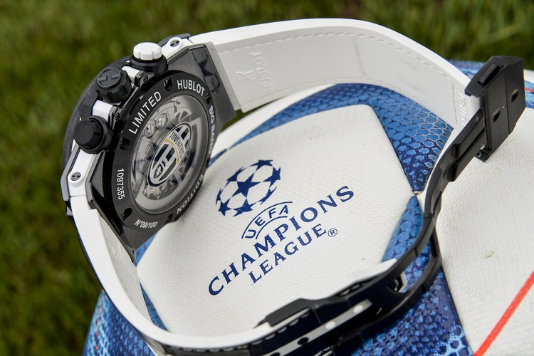 Hublot Big Bang Unico Bi-Retrograde Juventus Watch - Back