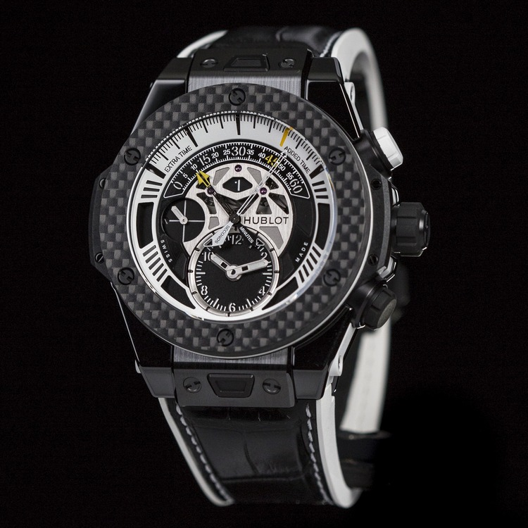 Hublot Big Bang Unico Bi-Retrograde Juventus Watch Front