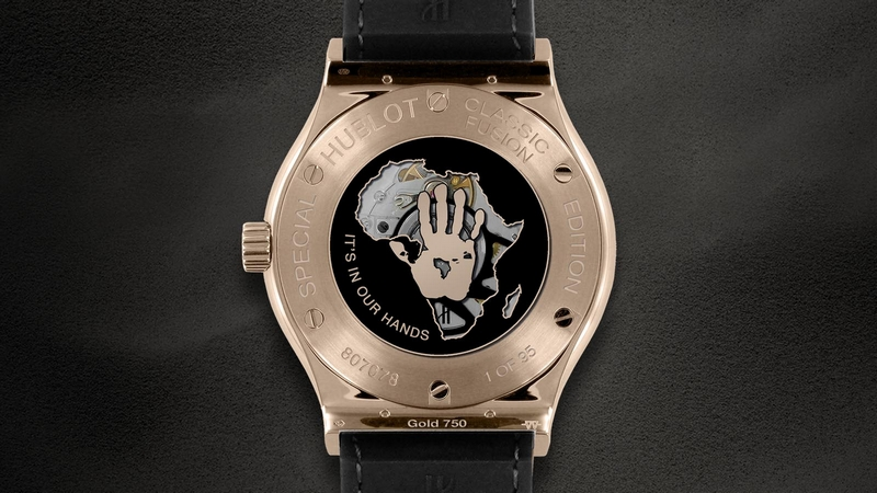 Hublot Classic Fusion House of Mandela Watch Case Back