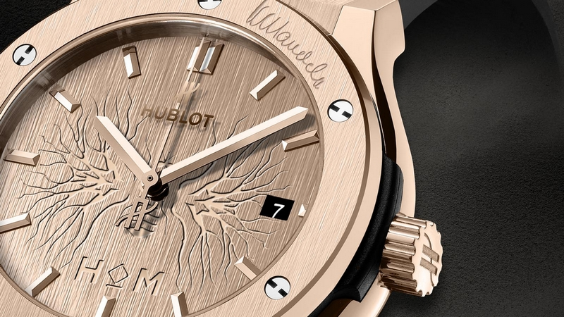 Hublot Classic Fusion House of Mandela Watch Detail