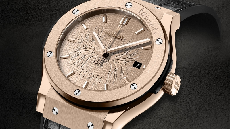Hublot Classic Fusion House of Mandela Watch Dial