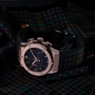 Hublot Classic Fusion Chronograph Italia Independent Tartan King Gold Watch