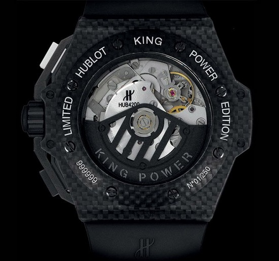 Hublot King Power Juventus Turin Watch Caseback