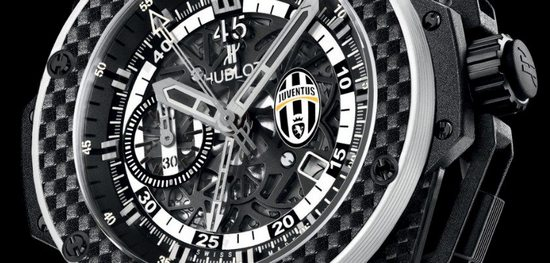 Hublot King Power Juventus Turin Watch Dial