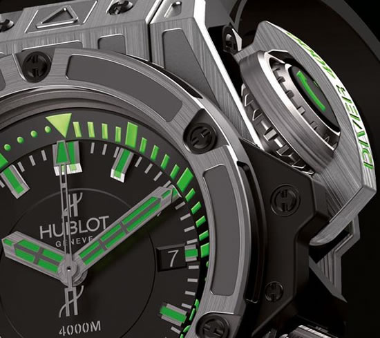 Hublot King Power Diver 4000m Watch detail
