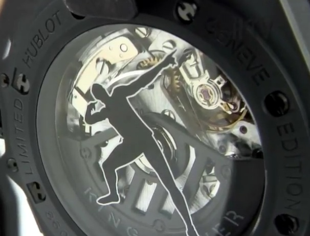 Hublot King Power Usain Bolt Watch Caseback