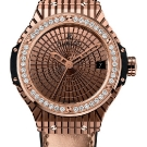 Hublot Big Bang Caviar Watch Red Gold Diamonds Watch Front